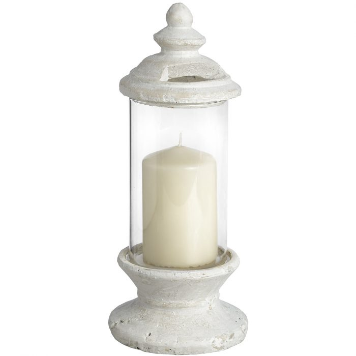 Glass Candle Holder - Cosy Home Interiors