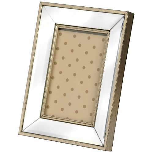 Rectangle Mirror Bordered Photo Frame 5x7 - Cosy Home Interiors