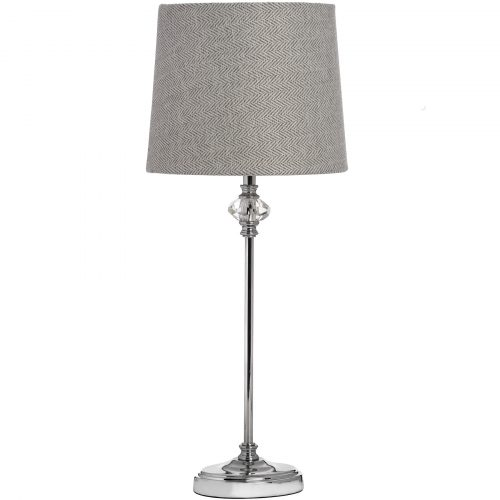Florence Chrome Table Lamp - Cosy Home Interiors