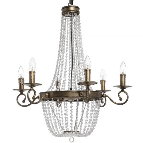 Antique Gold Venetian Chandelier - Cosy Home Interiors