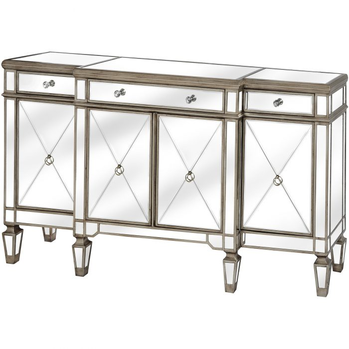 The Belfry Collection Mirrored Sideboard - Cosy Home Interiors