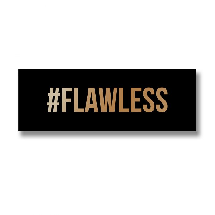 Flawless Gold Foil Plaque - Cosy Home Interiors