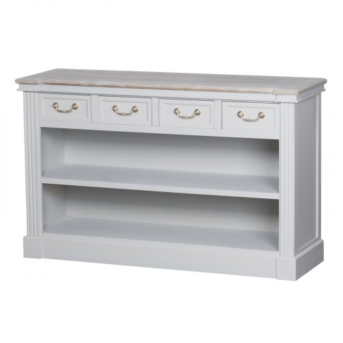 The Liberty Collection Four Drawer Low Bookcase - Cosy Home Interiors