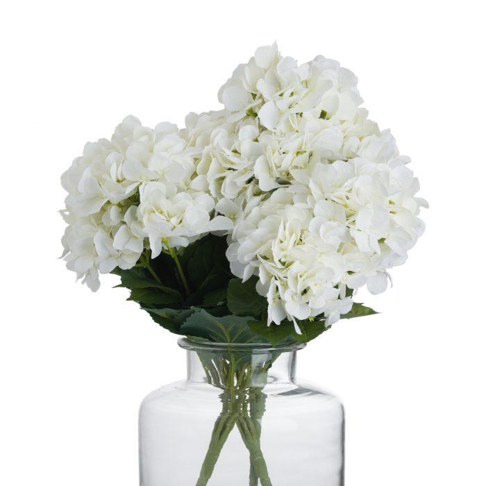White Hydrangea Bouquet - Cosy Home Interiors