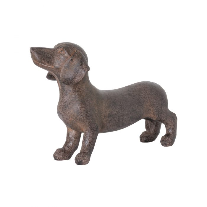 Ernie The Sausage Dog Standing Ornament - Cosy Home Interiors