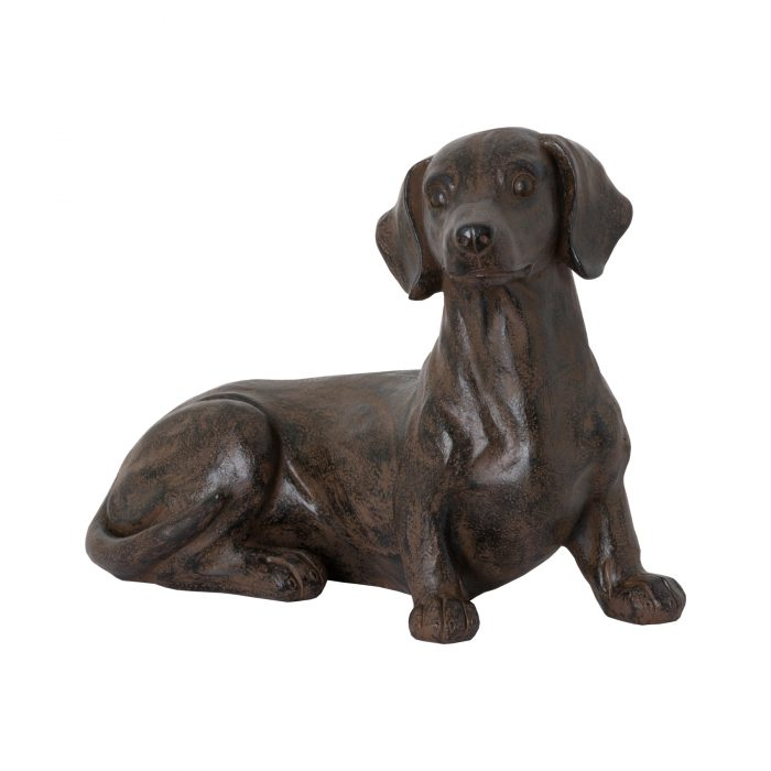 Ernie The Sausage Dog Sitting Ornament - Cosy Home Interiors