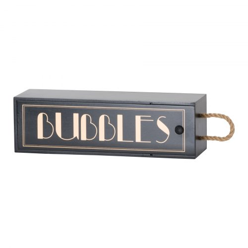 Art Deco 'Bubbles' Champagne Box - Cosy Home Interiors