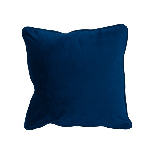 Navy Velvet Cushion 40x40cm - Cosy Home Interiors