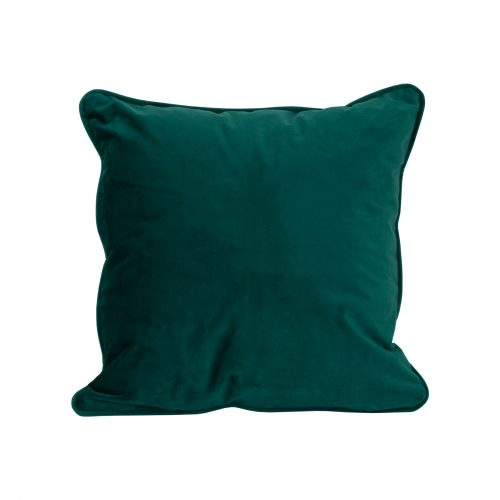 Emerald Green Velvet Cushion 40x40cm - Cosy Home Interiors