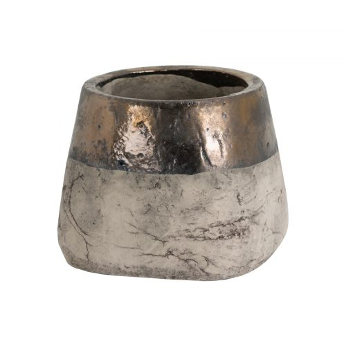 Metallic Dipped Large Vase - Cosy Home Interiors