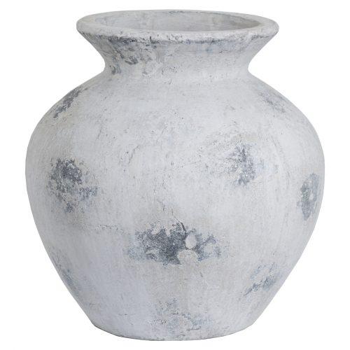 Downton Large Antique White Vase - Cosy Home Interiors