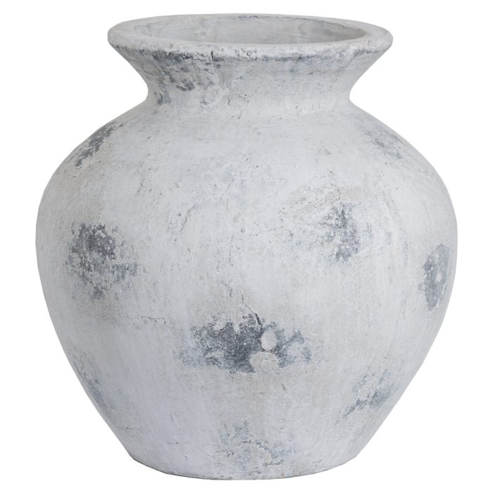Downton Large Antique White Vase - Cosy Home Interiors
