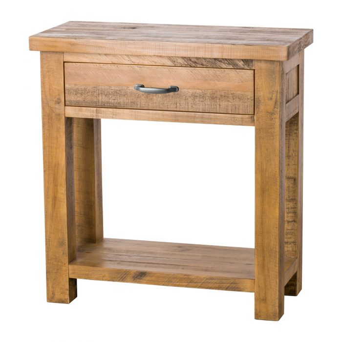 The Deanery Collection One Drawer Lamp Table - Cosy Home Interiors