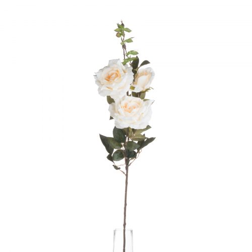 Autumn White Rose Spray - Cosy Home Interiors