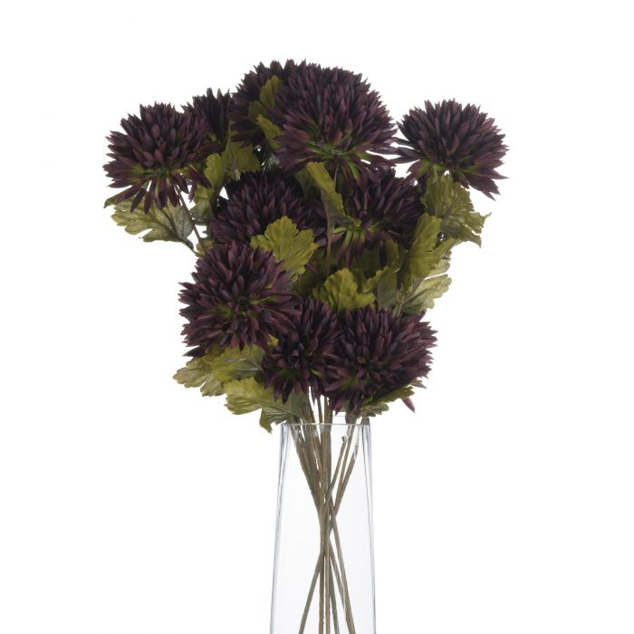 Chocolate Chrysanthamum - Cosy Home Interiors