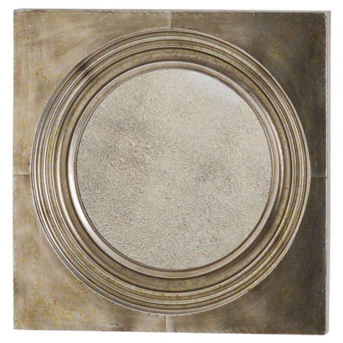 Stratton Bronze Mirror With Antique Glass - Cosy Home Interiors