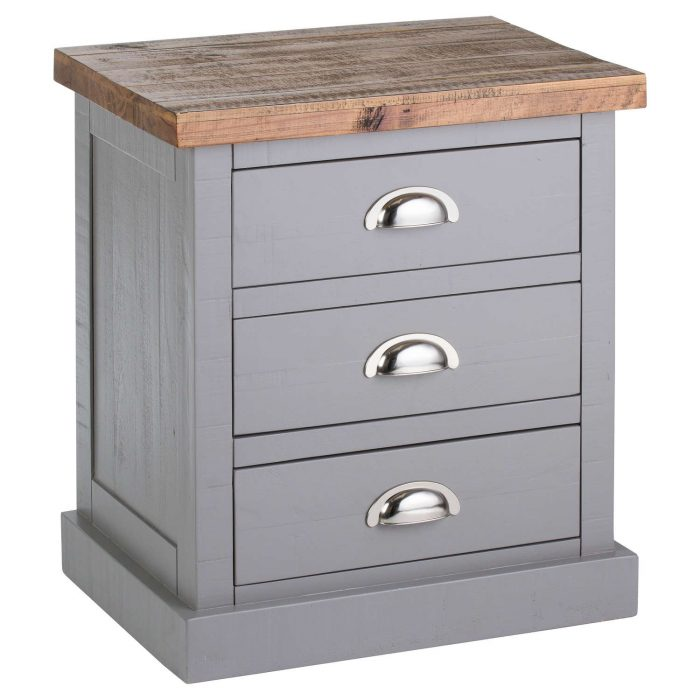 The Byland Collection 3 Drawer Bedside - Cosy Home Interiors