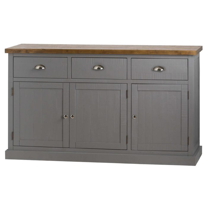 The Byland Collection Three Drawer Three Door Sideboard - Cosy Home Interiors