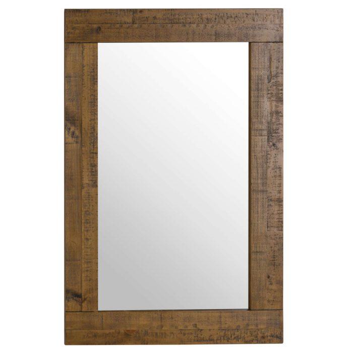 The Deanery Collection Plank Mirror - Cosy Home Interiors