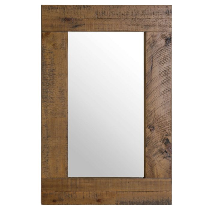 The Deanery Collection Small Plank Mirror - Cosy Home Interiors