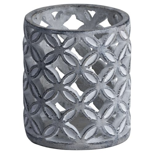 Geometric Stone Candle Sconce - Cosy Home Interiors