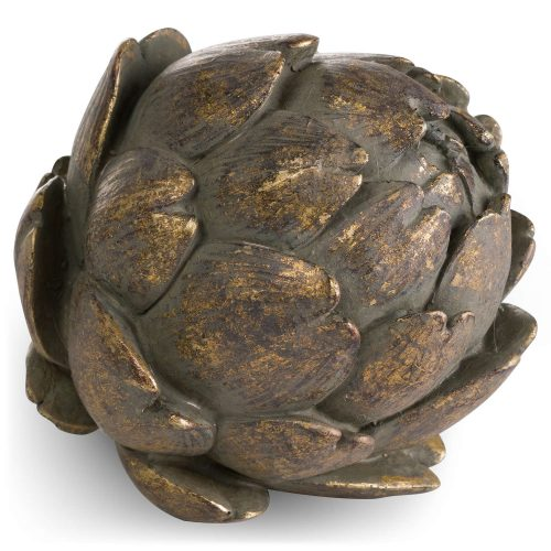 Antique Bronze Large Artichoke - Cosy Home Interiors