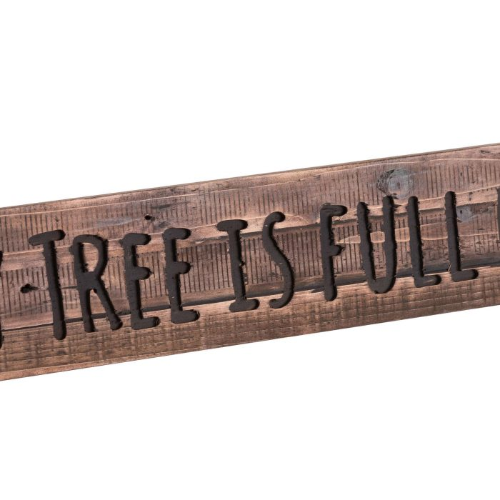 Our Family Tree Rustic Wooden Message Plaque - Cosy Home Interiors