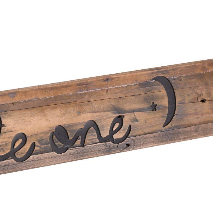 Dream Big Rustic Wooden Message Plaque - Cosy Home Interiors