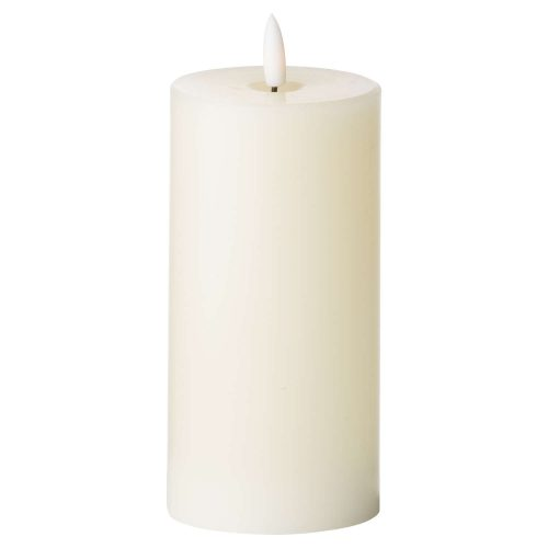 Luxe Collection Natural Glow 3 x 6 LED Ivory Candle - Cosy Home Interiors