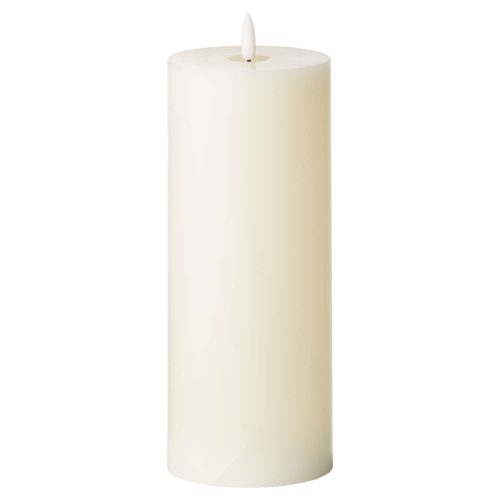 Luxe Collection Natural Glow 3.5 x 9 LED Ivory Candle - Cosy Home Interiors