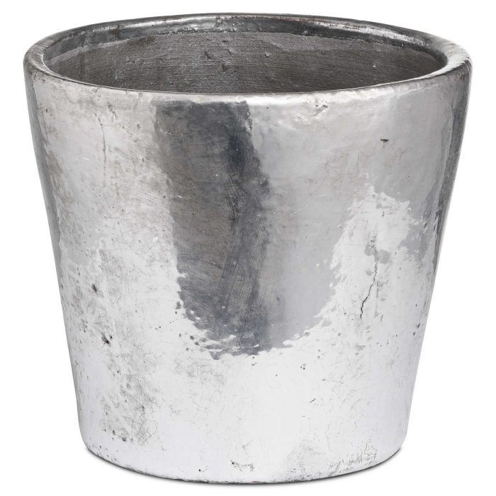Metallic Large Ceramic Planter - Cosy Home Interiors