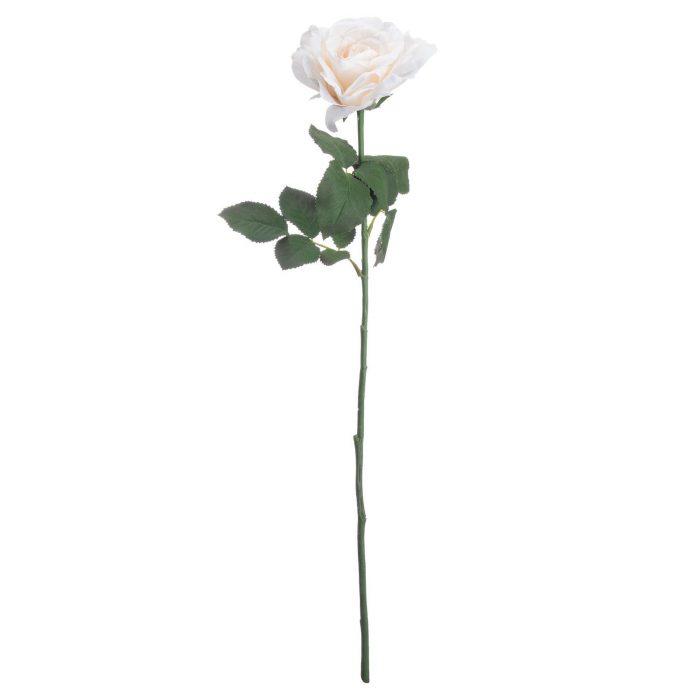 White Silk Garden Rose - Cosy Home Interiors