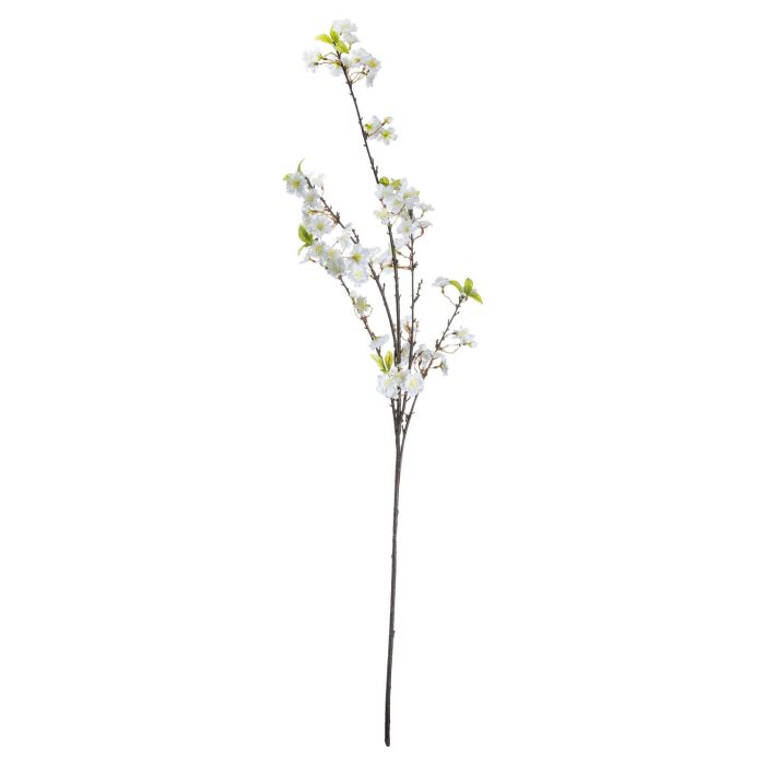 White Cherry Blossom Spray - Cosy Home Interiors
