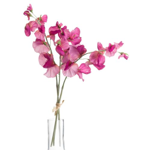 Pink Sweetpea Bouquet - Cosy Home Interiors