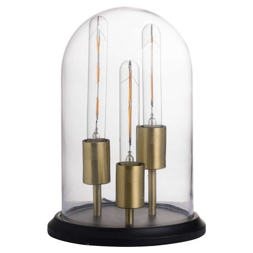 Vintage Industrial Triple Glow Lamp - Cosy Home Interiors