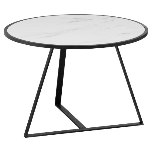 Grey And Marble Low Side Coffe Table - Cosy Home Interiors