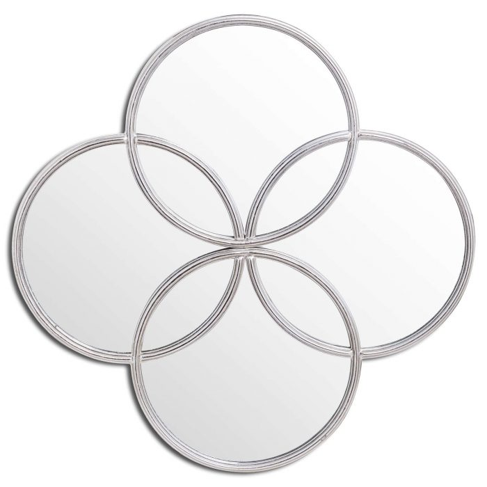 Silver Foil Circle Of Life Mirror - Cosy Home Interiors