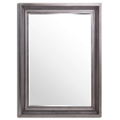 Oscar Antique Silver Mirror - Cosy Home Interiors