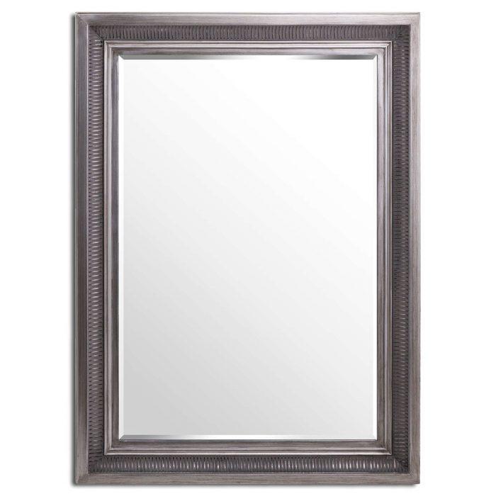 Oscar Antique Silver Mirror - Cosy Home Interiors