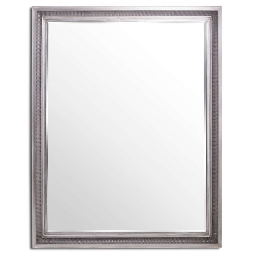 Oscar Antique Silver Mirror Large Mirror - Cosy Home Interiors