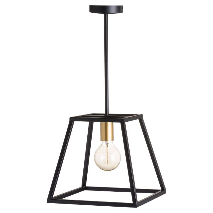 Black And Brass Piped Pendant Light - Cosy Home Interiors