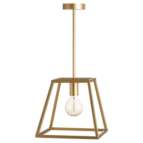Brass Piped Pendant Light - Cosy Home Interiors
