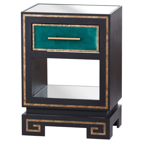 The Gatsby Collection One Drawer Lamp Table - Cosy Home Interiors