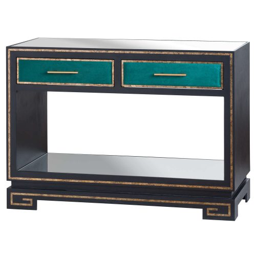 The Gatsby Collection Two Drawer Console Table - Cosy Home Interiors