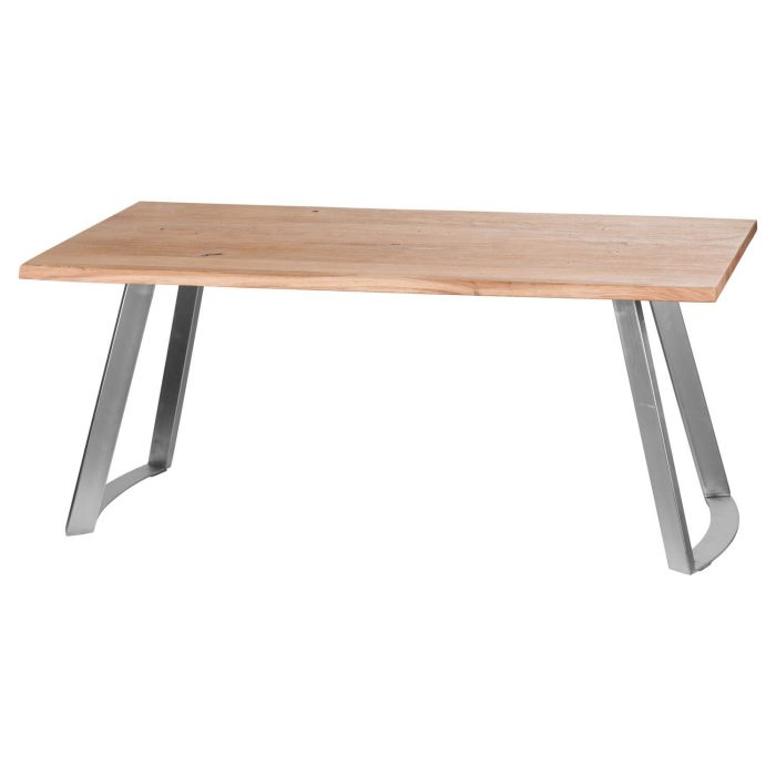 Live Edge Collection Sandblasted Dining Table - Cosy Home Interiors