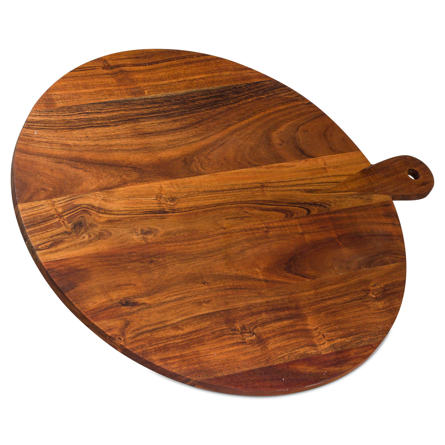 Large Round Hardwood Chopping Board - Cosy Home Interiors