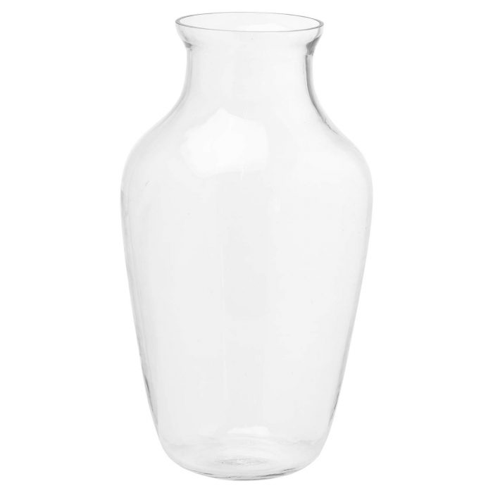 Large Amphora Glass Vase - Cosy Home Interiors