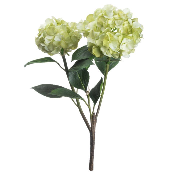 Light Green Oversized Hydrangea Spray - Cosy Home Interiors