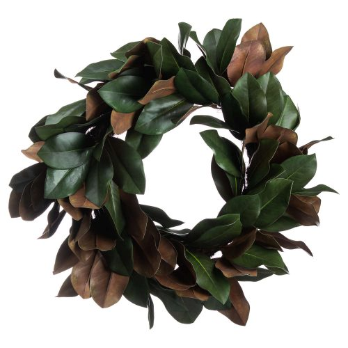 Magnolia Leaf Wreath - Cosy Home Interiors