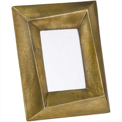 Ohlson Antique Brass Photo Frame 4x6 - Cosy Home Interiors